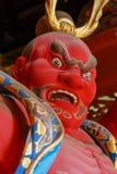 Nio-mon Gate at Taiyuinbyo - the Mausoleum of Tokugawa Iemitsu in Nikko Royalty Free Stock Photos
