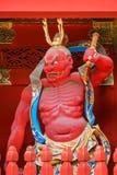 Nio-mon Gate at Taiyuinbyo - the Mausoleum of Tokugawa Iemitsu in Nikko Stock Photo