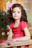 Niño, pequeña muchacha hermosa Fotografía de archivo libre de regalías
