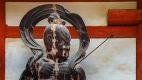 Nio statue at Daigo-ji Temple in Kyoto, Japan Stock Photos