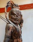 Nio statue at Daigo-ji Temple in Kyoto, Japan Royalty Free Stock Image