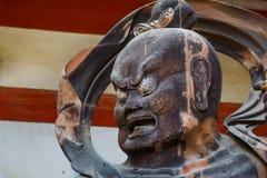 Nio statue at Daigo-ji Temple in Kyoto, Japan Royalty Free Stock Photos