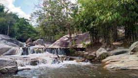 Nio vattenfall nio Jones Waterfall royaltyfri fotografi
