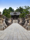 Niomon Gate at the Narita-San Temple Complex Royalty Free Stock Photos