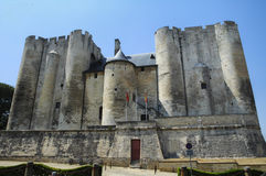 Niort (France): castle Royalty Free Stock Images
