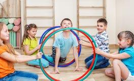 Niños activos Fotografía de archivo