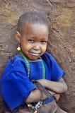 Niños africanos de la tribu del Masai Imágenes de archivo libres de regalías