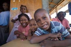 Niños desplazados Imagen de archivo