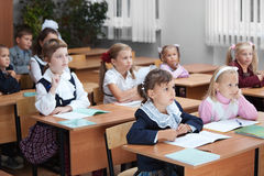 Niños en la escuela Fotografía de archivo