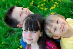 Niños felices Fotos de archivo