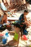 Niños felices Imagen de archivo libre de regalías