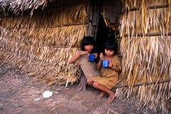 Niños indios Foto de archivo
