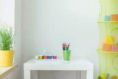 Niños interiores Foto de archivo libre de regalías