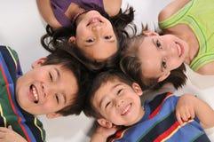 Niños que se divierten Imagenes de archivo
