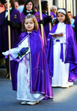 Niños religiosos Fotografía de archivo