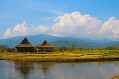 Nipa huts Royalty Free Stock Photography
