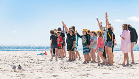 Nippers event on Mount Beach Royalty Free Stock Images