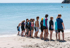 Nippers event at Mount Maunganui Stock Image