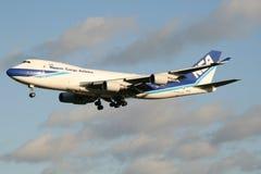 Nippon Cargo. Frankfurt/Germany july 4, 2012: Boeing 747 from Nippon Cargo at Frankfurt Airport Royalty Free Stock Photo