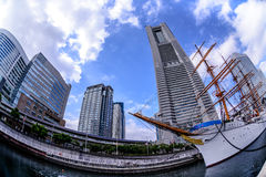 Nippon Maru at Minato Mirai in Yokohama Stock Image