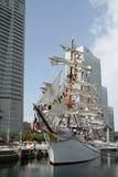 Nippon maru, sailing ship in yokohama. Japan Royalty Free Stock Image