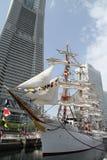 Nippon maru, sailing ship in yokohama. Japan Stock Image