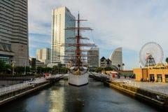 Nippon Maru sailing ship, Yokohama Stock Image