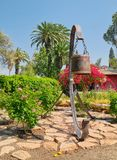 Historic bell of Nir David kibbutz, Israel Royalty Free Stock Photo