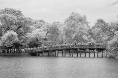 nir il ponte Fotografia Stock