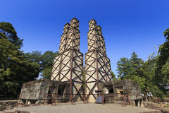 Nirayama Reverberatory furnace Royalty Free Stock Photography