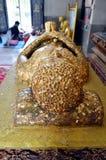 Nirvana Buddha Immagini Stock