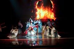 Nirvana--Den historiska magiska magin för stilsång- och dansdrama - Gan Po Royaltyfria Bilder