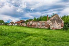 Nis Fortress is een vesting in de stad van NiÅ ¡ royalty-vrije stock fotografie
