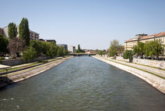 Nis with Nisava river, Serbia Royalty Free Stock Photos