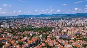Nis, Serbien stockbild