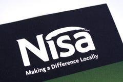 Nisa detalisty logo Fotografia Royalty Free