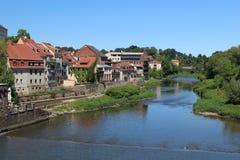 Nisa flod Royaltyfri Fotografi