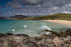 Nisabost Schacht, Harris, Hebrides, Schottland Stockfotos