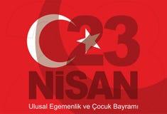 23 Nisan Stock Image
