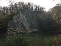 Nische auf dem Felsen Lizenzfreie Stockfotos