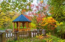 Nische im Herbstgarten Lizenzfreies Stockbild