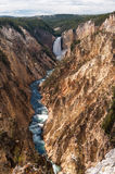 Niscy spadki, Yellowstone fotografia royalty free