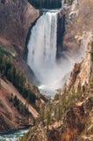 Niscy spadki, Yellowstone obrazy royalty free