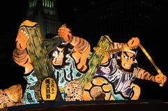 Nisei week parade float Royalty Free Stock Images