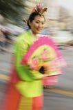 Nisei week parade participant Royalty Free Stock Photos