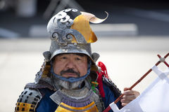 Nisei Week Samurai Stock Image