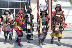 Nisei Week Samurai Royalty Free Stock Photography