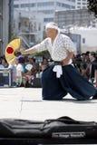 Nisei Week Swordsman Royalty Free Stock Photography