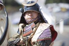 Nisei Wochen-Samurai Stockbilder