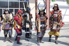 Nisei Wochen-Samurai Lizenzfreie Stockfotografie